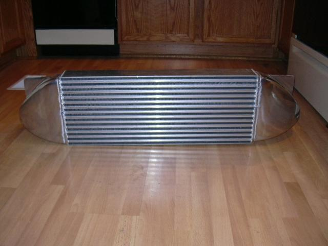 DV/DTFab front-mount intercooler