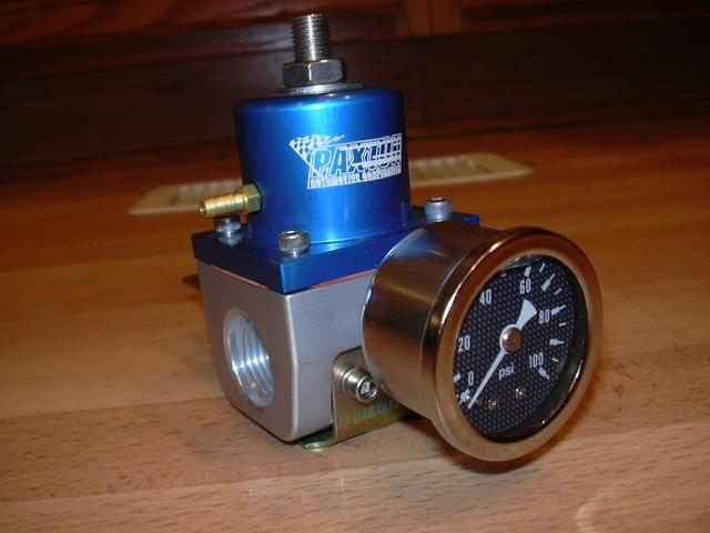 Paxton fuel pressure regulator