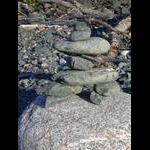 My inukshuk at Old Woman Bay