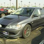 2005 Graphite Grey Mitsubishi Lancer Evolution MR